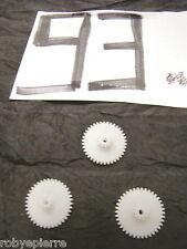 Ingranaggi ingranaggio pezzi di ricambio modellismo meccanismi in plastica N93