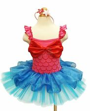 MINNIE MOUSE Girls Kid Party Costume Ballet Tutu Fancy Dress Up Cosplay 1-10Y