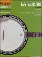 Hal Leonard Banjo Method Easy Banjo Solos TAB Book & Audio Access 5-String