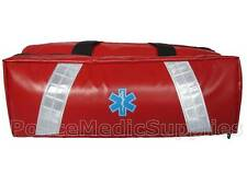 Oxygen Barrel Bag (Red) Wipe Down O2 Community First Responder Ambulance Medic