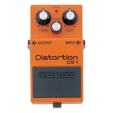 Boss DS1 Distortion Electric Guitar Effects Pedal 5-Year Warranty UK Stock NEW