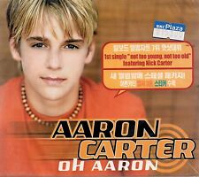 Aaron Carter - Oh Aaron 2001 Special Package Audio CD SEALED $2.99 Ship