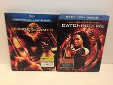 The Hunger Games And Catching Fire Bluray DVD Combo Free Shipping