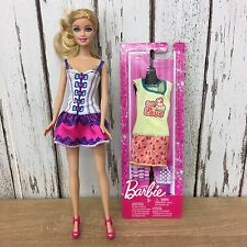 BARBIE 2009 Dressed Doll - 1998 Head & Unopened 2012 Fashionista Outfit