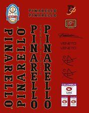 PINARELLO VENETO FRAME DECAL SET BLACK/GOLD