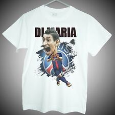 Angel Di Maria T-Shirts paris saint germain soccer short sleeve tee mens gifts