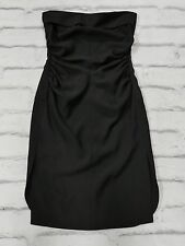 FINAL PRICE: Yves Saint Laurent Fall '12 Black Strapless Dress FR38/UK10 Pilati