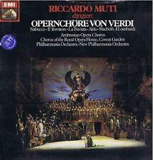 MUTI dirige Operenchore VERDI cori opere LP EMI sealed sigillato
