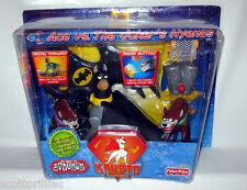 Krypto the Superdog Bat Hound ACE vs.The JOKER's Hyenas Figure Set NEW RARE