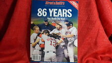 Boston Red Sox MLB World Series Champs Limted Edition Program 86 Years