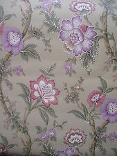 Wallpaper Waverly 5501671 Large Repeat Pattern Dark Dramatic Floral 60% Off New