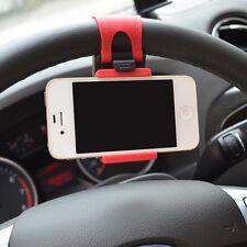Universal volante auto montaggio supporto telefono Stand per Iphone Cellulare