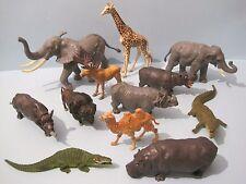 Britains plástico animales del zoológico: prestigiosa colección de animales grande de x12