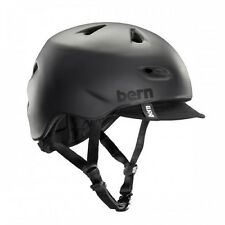 Bern Brentwood Summer Cycling Helmet (Matte Black / Large/X-Large Size)