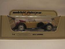 MATCHBOX Y-11 1938 LAGONDA - YELLOW - MIB