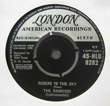"The Ramrods(7"" Vinyl)Riders In The Sky-London-HLU 9282-UK-Ex/VG+"
