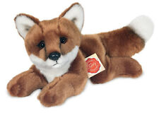 Fox collectable plush soft toy by Teddy Hermann - 26cm / 10 inches - 90324