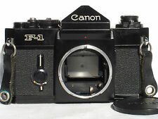 Canon F-1 35mm SLR Film Camera Body    F1