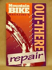 Vtg 1995 Mountain Bike Magazine Repair Service Maintenance Book Manual Guide