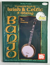 Complete book of Irish & Celtic 5 - string banjo Tom Hanway No DISC Book Only
