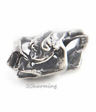 Authentic Trollbeads Silver bead called Climbing Frog 11192