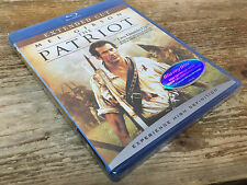 The Patriot Blu-ray Disc 2007 DVD Mel Gibson Heath Ledger Movie Extended Cut NEW