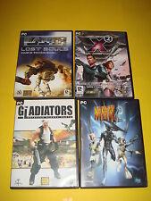 Lote de juegos de PC-MDK 2-X2 LA AMENAZA-GLADIATORS-LOST SOULS