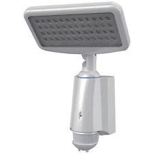 LED SENSOR LIGHT -  SOLAR PANEL & 240V POWER CORD FOR RECHARGING Security Light