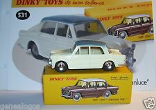 REEDITION DINKY TOYS ATLAS FIAT 1200 GRANDE VUE avec glaces REF 531 1/43 IN BOXb