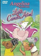 Angelina Ballerina Lights, Camera, Action DVD 2004 Royal Academy of Dance