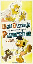 PINOCCHIO LOCANDINA WALT DISNEY ANIMAZIONE