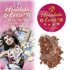 W7 Honolulu Loose Bronzing Powder Matte Bronzer Face & Body