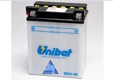 CB14-A2/SM BATTERY MOTO UNIBAT 14 AH 190 A (EN) - COD. YAUSA YB14-A2