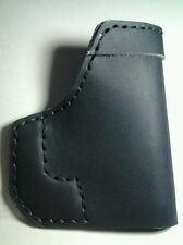 pocket holster for Heizer Defense Double tap 9MM 45 ACP black leather new
