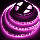 16.4ft PINK Flexible LED Strip Lights Tape Light - 3528 600LEDs LED Light Strip