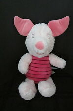 "13"" plush Walt Disney World soft shaggy piglet excellent Pooh's friend"