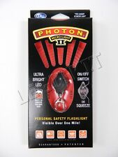 NEW Photon® II Micro-Light LED Keychain RED Flashlight by LRI Dog Tag Map Light