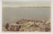 Cornwall postcard - St Michaels Mount, The Battery
