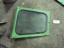 John Deere 4520 tractor front right hand side glass & frame (DK) Tag #202