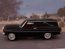 1964 / 1965 FORD FALCON FUNERAL HEARSE 1/64 COLLECTIBLE MODEL DIORAMA OR DISPLAY