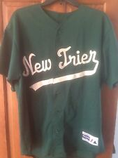 New Trier, IL High School Baseball Jersey # 8, Large - also comes in Med & Small