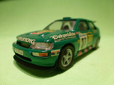 PROVENCE MOULAGE FORD ESCORT RS - RALLY MONTE CARLO 37 - RARE SELTEN - BP -