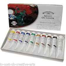WINSOR & NEWTON ARTIST OIL COLOUR INTRODUCTORY SET 10x21ml PAINT TUBES