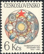 Czechoslovakia 1982 Science/Space Research/Books/Crystal/Sun/Planets 1v (n44471)