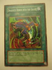 (x1) Dragged Down Into The Grave DCR-084 Spell Card Yu-Gi-Oh (JB-54)