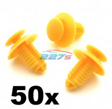 50x Door Card Sill & Kick Plate Trim Cover Clips for Rover 200 25 45 75 MG ZT ZS
