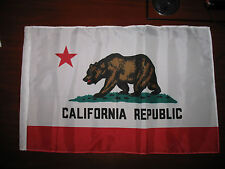 "12x18 12""x18"" State of California SuperPoly Boat Car Flag (sleeve)"
