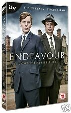 Endeavour: Complete Series 3 (iTV DVD)~~~Shaun Evans, Roger Allam~~~NEW & SEALED