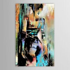 Hand painted Canvas Modernism Abstract Nude Girls Back Art Silk Poster 24x36