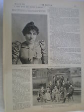 Photo article interview artist painter Henrietta Rae 1894 Ref R